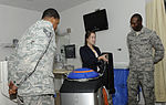 US Air Force Langley Hospital adds Ebola-zapping robot to inventory 141020-F-VN235-030.jpg