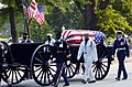 US Navy 040609-N-1464F-010 The Old Guard of the Army's 3rd U.S. Infantry Regiment transports the flag-draped casket of former President Ronald Reagan.jpg