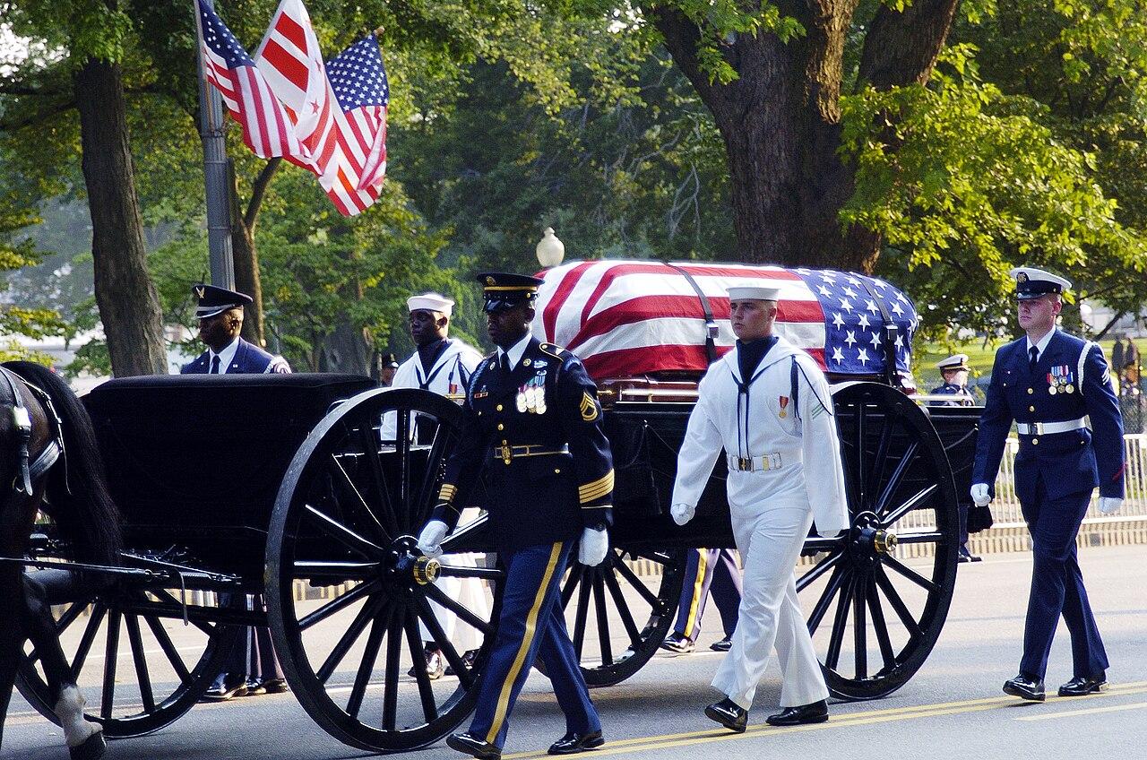 里根总统悼词