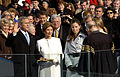 US Navy 050120-F-6911G-128 With his family by his side, President George W. Bush is sworn in for his second term as the 43rd President of the United States by U.S. Supreme Court Chief Justice William Rehnquist in Washington, D.jpg