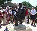 US Navy 070704-N-0122P-002 Gunner's Mate 2nd Class (SEAL) Danny P. Dietz was honored by his hometown of Littleton with the dedication of a larger-than-life bronze statue.jpg
