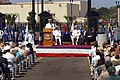 US Navy 070830-N-8327R-024 Capt. Anthony E. Gaiani speaks during a dedication ceremony to name the main entrance to Naval Air Station North Island.jpg