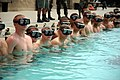 US Navy 080708-N-2959L-073 Basic Crewman Training (BCT) students prepare to begin swim training at Naval Amphibious Base, Coronado. The students are in their first week of BCT, the first phase of special warfare combatant-craf.jpg