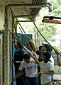 US Navy 090419-N-5253W-031 Sailors from Amphibious Squadron (PHIBRON) 11 and the Armed Forces of the Philippines Navy paint a school.jpg