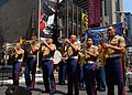 US Navy 090523-N-5681S-017 Members of the U.S. Marine Corps Forces Reserve Band, based in New Orleans, perform during USMC Day in Times Square.jpg