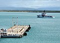 US Navy 100514-N-8241M-017 USCGC Decisive (WMEC 629) gets underway from Naval Station Guantanamo Bay, Cuba.jpg