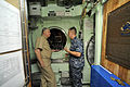 US Navy 100609-N-8273J-149 Chief of Naval Operations (CNO) Adm. Gary Roughead visits the crew of the Virginia-class submarine USS Hawaii (SSN 776) at Joint Base Pearl Harbor-Hickam.jpg