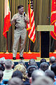 US Navy 111128-N-DP852-003 Vice Chief of Naval Operations (VCNO) Adm. Mark Ferguson addresses Sailors at Naval Support Activity, Naples.jpg