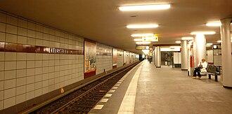 Kleistpark (Berlin U-Bahn) - Platform of the station