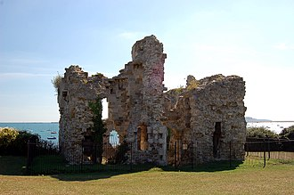 Weymouth, Dorset - The ruins of the 16th century Sandsfoot Castle
