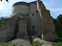 Ukraine.Ostrog.Castle.MurovanaTower02.jpg