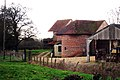 Unconverted Oast House at Stonehall Farm, Crumps Lane, Ulcombe, Kent - geograph.org.uk - 1185953.jpg