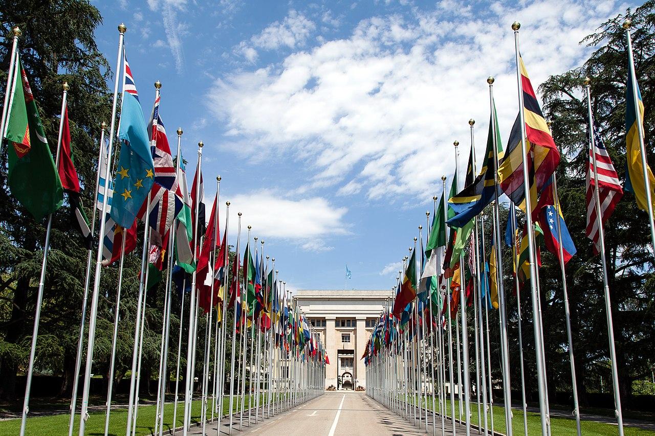 聯合國歐洲總部:日內瓦萬國宮