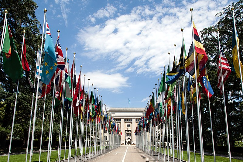 United Nations in Geneva, Switzerland