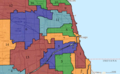 United States Congressional Districts in Illinois (metro highlight), 1983 – 1992.tif