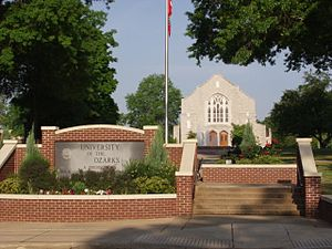 University of the Ozarks - University of the Ozarks campus