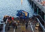 Unloading the russian submarine searcher.jpg