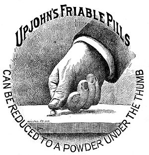 Upjohn - Image: Upjohn's Friable Pills
