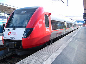 Regina (train) - Upptåget X52 operated by Upplands Lokaltrafik