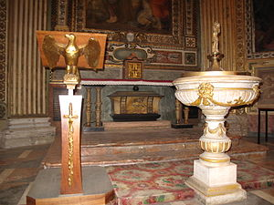 Mirocles (bishop of Milan) - Altar and Urn of Saint Mirocles