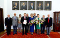 Uroczystość wręczenia nowo wybranym senatorom zaświadczeń o wyborze 2014 01.JPG
