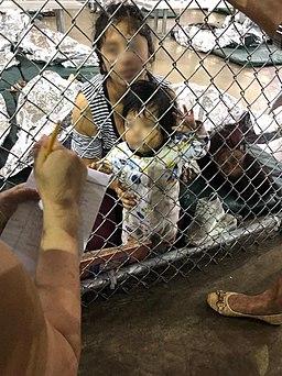 Ursula migrant detention center July 2019 photo 1