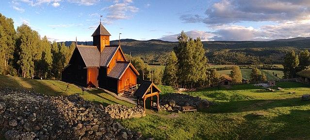 Bilde av Uvdal stavkirke