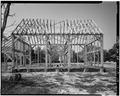 VIEW WEST, EAST ELEVATION DETAIL - John Dickinson Mansion, Feed Barn, Kitts Hummock Road, Dover, Kent County, DE HABS DEL.1-DOV.V,1-A-4.tif