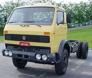 Volkswagen Caminhões e Ônibus - The first Volkswagen Truck - the 1981 13.130