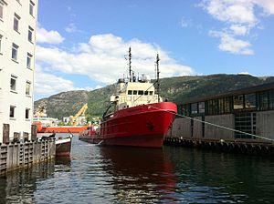 Valdemar M in Bergen harbour.jpg