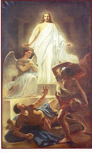 Valga Jaani kiriku altaripilt Ülestõusnud Kristus.jpg