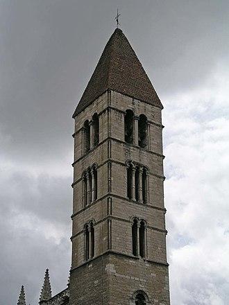 Santa María La Antigua - The bell tower.