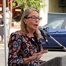 Vallie Brown at Inner Sunset Streetscape Project ribbon cutting, September 2019.JPG