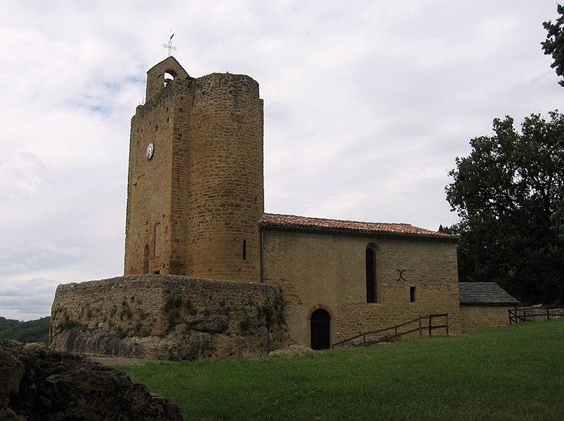 Église de Vals (Ariège, Midi-Pyrénées, France).