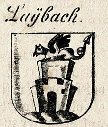 Valvasor 1689 Ljubljana lintvern