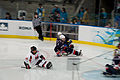 Vancouver 2010 Paralympic Sledge Hockey (4443783573).jpg
