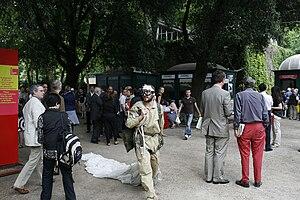 Venice Biennale - Biennalist Giardini Main Entrance
