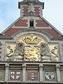 Verguld Rijkswapen, Amsterdam Centraal Station.jpg