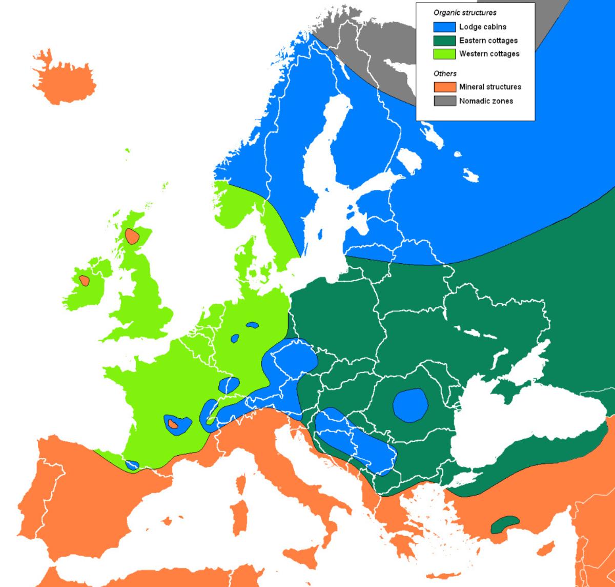 Europe: Vernacular Architecture