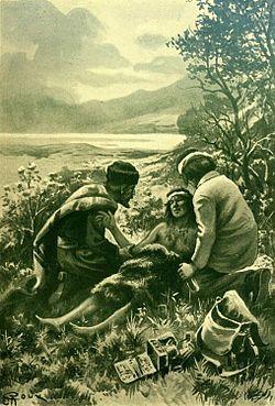 Verne - Les Naufragés du Jonathan, Hetzel, 1909, Ill. page 18