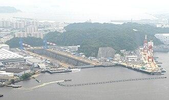 Léonce Verny - The Verny drydock in Yokosuka, still used today by the US Fleet Activities Yokosuka.