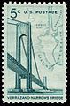 Verrazano-Narrows Bridge 5c 1964 issue U.S. stamp.jpg