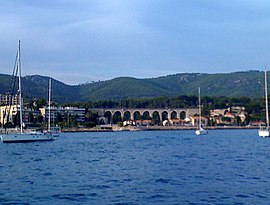 Viaduct in Bandol