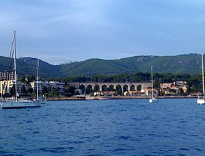 Bandol - Viaduct in Bandol