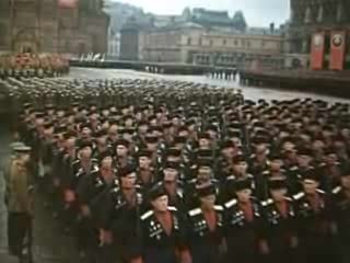 Moscow Victory Parade of 1945 Military Triumph Parade in 1945
