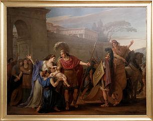 Les adieux d'Hector et d'Andromaque