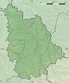 Vienne department relief location map.jpg