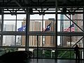ViewDowntownHoustonFromGeoRBrownConvCtr25Apr13.jpg