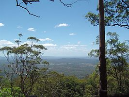 View north from The Knoll Tamborine Mountain.JPG
