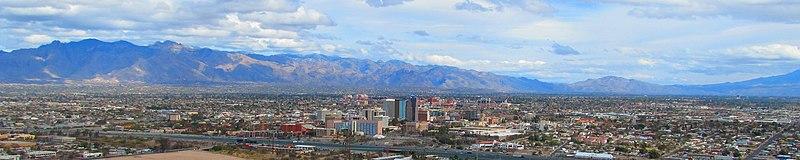 File:View of Tucson from Sentinel Peak Wide.jpg